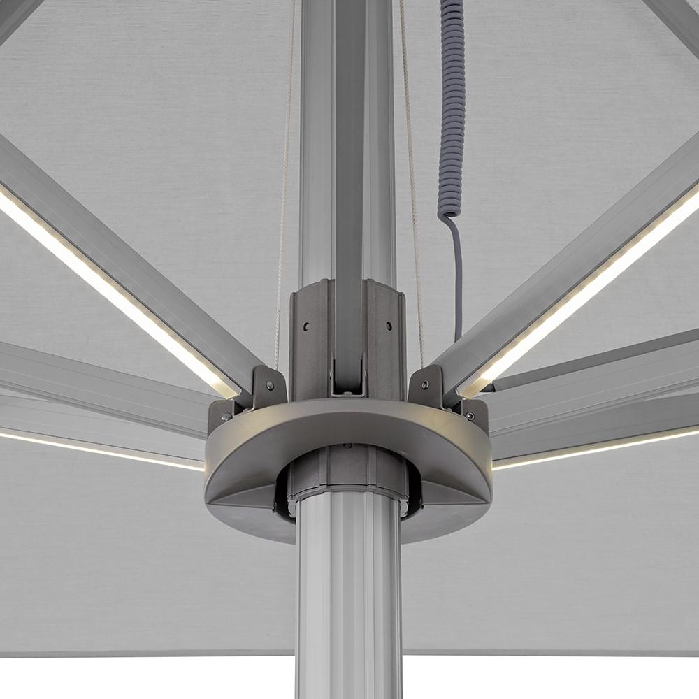 Eclairage LED intégré aux baleines