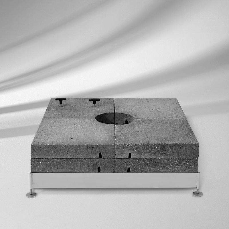 Socle M4 avec Kit de dalles