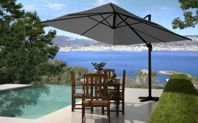Les atouts d'un parasol excentré pour les hôtels et les restaurants