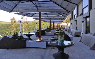 Top 5 des parasols pour se protéger du soleil sur une terrasse de restaurant