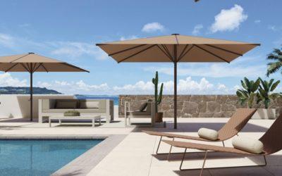Les meilleurs parasols pour se protéger du soleil à la piscine