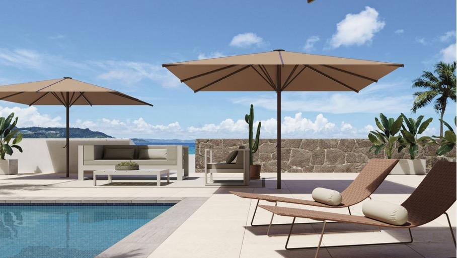 parasol pour piscine