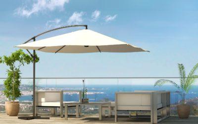 Les fonctionnalités et caractéristiques à prendre en compte lors de l'achat d'un parasol déporté