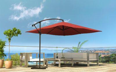 Toutes les options pour votre parasol de terrasse