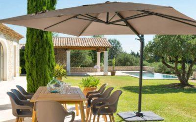 Accessoire parasol: les options pour vos parasols