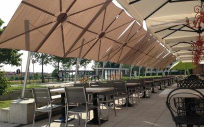 Parasol restaurant: les conseils pour bien aménager sa terrasse de restaurant