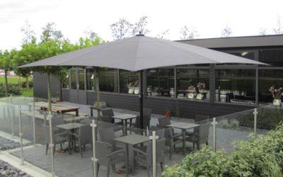 Parasol géant: ce qu'il faut savoir avant d'acheter un parasol pour un restaurant