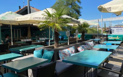 Parasol bar: embellissez votre terrasse de bar avec un ou plusieurs parasols!